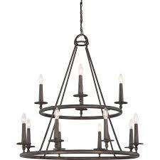 various candle style chandelier of loon peak bedford 12 light reviews wayfair