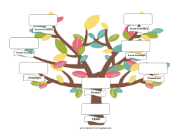 photo family tree template single parent family tree template