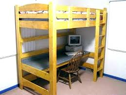 bunk bed frame plans how to build loft bed with desk underneath building frame plan quick bunk bed frame plans queen low loft