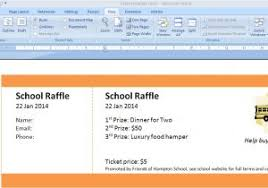 Template For Making Tickets 12 Free Event Ticket Templates For Word