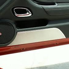 american car craft brushed door panel kick plates