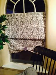 no sew curtain made with 2 95 tension rod from family dollar 1 yd fabric hobby