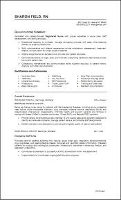 Icu Rn Resume Samples Clinical Nurse Resume Examples