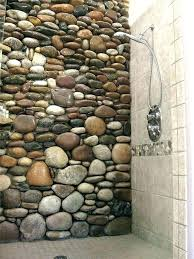 natural stone shower surrounds zen bathroom transitional design