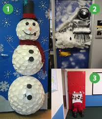 christmas office decorating ideas. office door christmas designs decorating ideas a