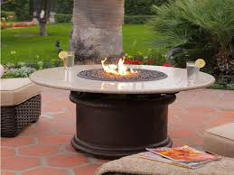 round gas fire pit table. Home Ideas: Destiny Round Fire Pit Table Summer Shopping Deals On Agio Cirrus 52 In Gas