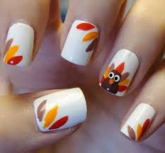 5 Thanksgiving Nail Designs 2016 For The Last Minute - Beauty Glitch!