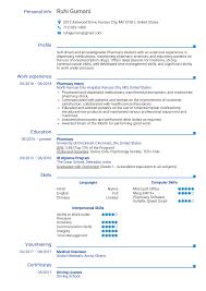 003 Pharmacy Curriculum Vitae Template Pharmacist Resume