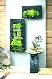 terracotta wall planters large planter garden plant pots zinc pocket metal brick pot hangers wall plant