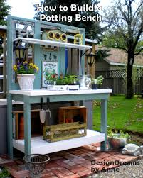Potting Bench Designdreams By Anne How To Build A Potting Bench Part I