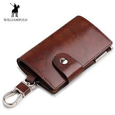 detail feedback questions about williampolo men key holder wallet small car key organizer genuine leather keychain bag cover with zipper coin pocket mini