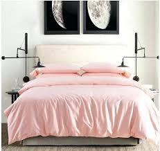 pale pink comforter set cotton light pink bedding set sheets king queen size quilt duvet cover