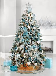 White And Blue Christmas Tree Decorations  ChemineewebsiteBlue Christmas Tree Ideas