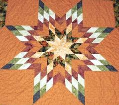 star blanket pattern quilt   The Challenge of a Lone Star Quilt ... & star blanket pattern quilt   The Challenge of a Lone Star Quilt With Help  From Jan Adamdwight.com