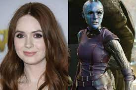 Avengers' Star Karen Gillan Details ...