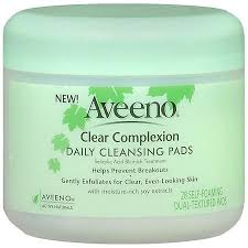 Aveeno Clear Complexion <b>Daily Facial Cleansing Pads</b>   Aveeno ...