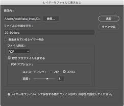 Illustrator レイヤーごとにpdfやpngで書き出す方法 Illustratorの使い方
