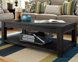 black rectangle coffee table. Wonderful Coffee Rectangle Shapes Black Rustic Coffee Table Traditional Hand Crafted  Additional Storage Living Room Furnitures In