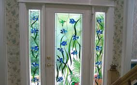 decorative stained glass designs for doors