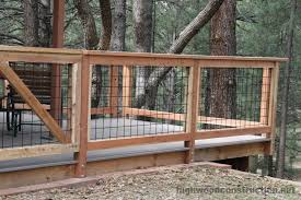 Image Modern Craftsman House Deck Concrete Patio Forest Products Supply Wild Hog Railing