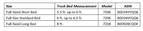 Tundra Bed Size Chart Kodiak Canvas Truck Bed Tent