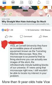 Oo Oo Vicecom Why Straight Men Hate Astrology So Much It