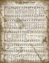 image result for old hymns sheet
