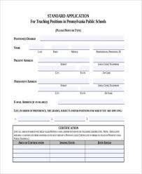 Free 9 Job Application Form Sample In Pdf Word