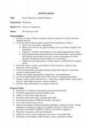 Assistant Warehouse Manager Job Description Creative Restaurant Manager Job Requirements Assistant Restaurant