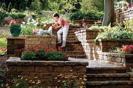 retaining wall in the garden 15 ideas