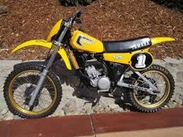 yamaha 125 dirt bike for sale. 1981 yamaha yz 125 mx vintage dirt bike motorcycle ahrma collector\u0027s for sale