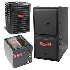 2 5 ton goodman 14 seer central air conditioner 60,000 btu 96  2 5 ton goodman 14 seer central air conditioner 60,000 btu 96% efficiency gas furnace downflow horizontal system heatandcool com