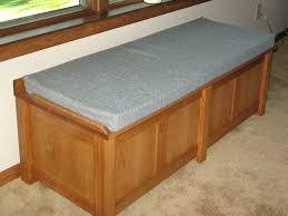 Cushion For Bench Benches Diy Cushion For Storage Bench Cushion