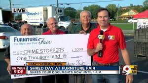 Furniture Fair donates $1 000 to Crime Stoppers of Greater