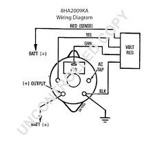 Ford alternator wiring diagrams inside external regulator diagram