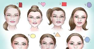 face shapes hairstyle