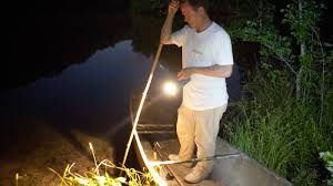 Best Light For Frog Gigging The Old Gig Catching Frogs On Warm Summer Nights Npr