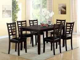 espresso dining table set acme 7 espresso finish wood dining table set espresso dining table white