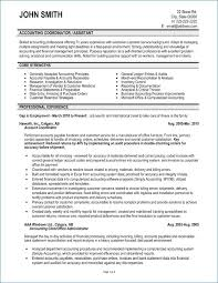 Accounts Receivable Resume Inspirational Sample Accounting