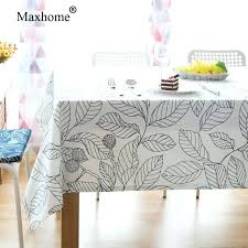 lace table covers simple leaves print table cloths cotton fabric tablecloths wedding table cloth dining table