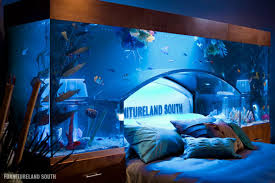 Really cool water beds Underwater Really Cool Water Beds Furniture Cool Custom Fish Tank Headboard For Your Bed Twistedsifter Twistedsifter Fishing Pinterest Really Cool Water Beds Forooshino