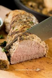 Perfect Roasted Pork Tenderloin