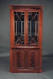 corner cabinets dining room: mahogany corner cabinet high enf mahogany corner china cabinet for traditional dining room