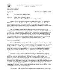 Fha Waterfall Waterfall Worksheet Mfy Legal Services
