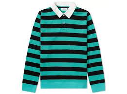 saays nyc sanders stripe rugby shirt