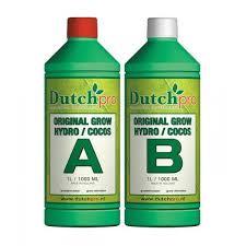 dutch pro hydro coco a b grow nutrient