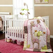 decoration giraffe nursery bedding set baby sets print crib