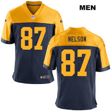 Alternate Jordy 87 No Jersey Nelson Game Green Mens Football Bay Packers Nike Navy|Top Takeaways From First Half Of The NFL Season