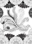 Раскраска райские птицы онлайн
