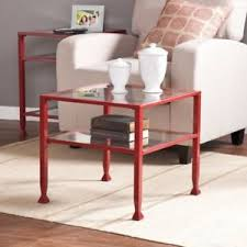 bunching coffee tables. Image Is Loading Southern-Enterprises-Bunching-Coffee-Table-Red Bunching Coffee Tables
